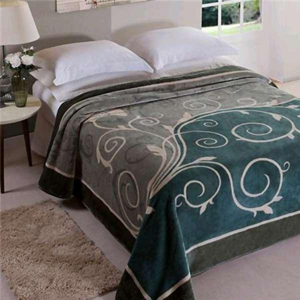 80b6a43a2d Cobertor Raschel Bruma King Size - Jolitex