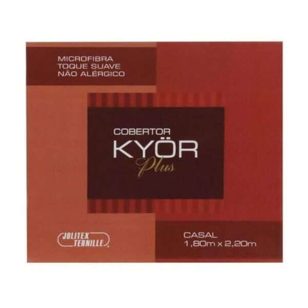500558efb7 Cobertor de Casal Kyor Plus Arezzo Mr 180x220 - Jolitex