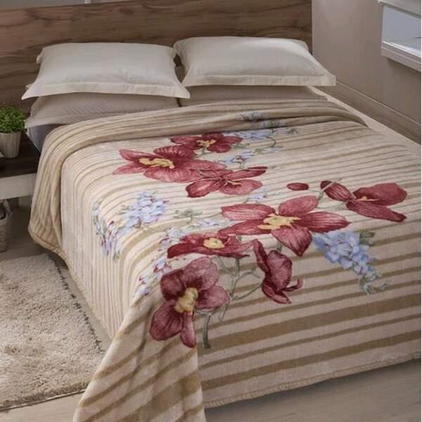 c9bfaabecc Cobertor Tradicional Elegance Casal - Jolitex