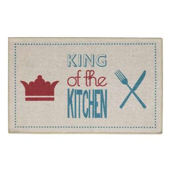 Tapete para Cozinha Aroeira Home Special Day King of the Kitchen