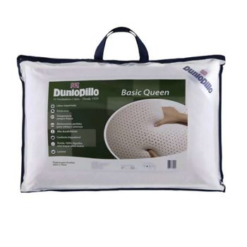 Travesseiro Latex Basic Queen 50 x 70 - Dunlopillo