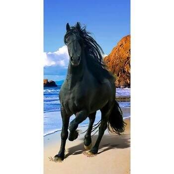 488546ea39f17 Toalha de Praia Veludo Resort Colorful Layers 70 x 152 - Buettner