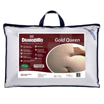 Travesseiro Latex Gold Queen 50 x 70 - Dunlopillo