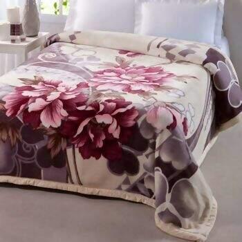 Cobertor Double Action Crisântemo King - Jolitex 7f1e8b318c94b