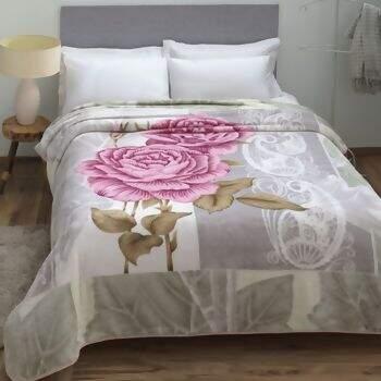 cf8ef71ae0 Cobertor de Casal Kyor Plus Candela Cinza 180x220 - Jolitex