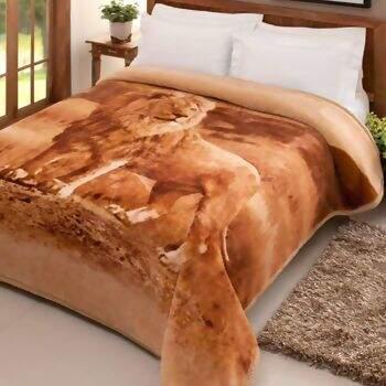 Cobertor Tradicional Leão Casal - Jolitex ce0b9539aa085