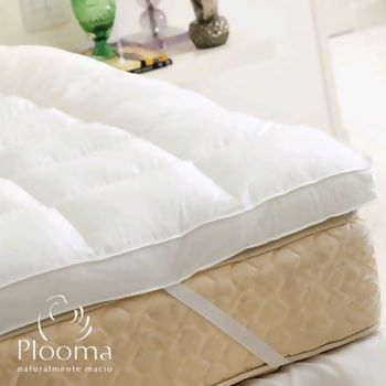 Pillow Top Plooma 80% Pena 20% Pluma de Ganso Queen