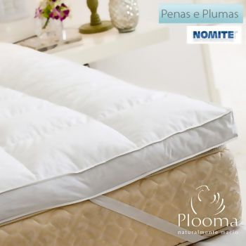 Pillow Top 80% Pena 20% Pluma de Ganso King - Plooma