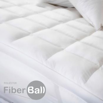 Pillow Top Fibra Especial FiberBall King - Plooma