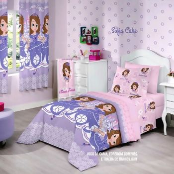 Edredom Disney Light Sofia Sweet - Santista